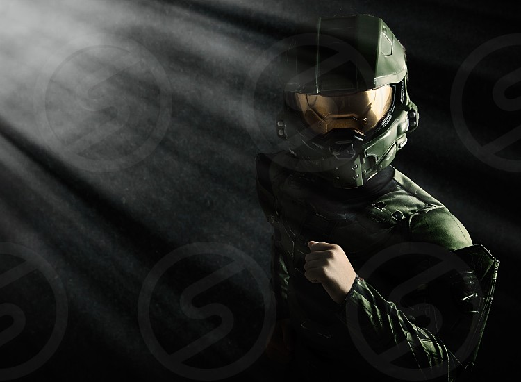 Halo costume Halloween  photo