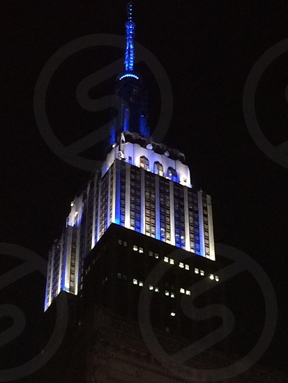 The spectacular and tallest building in NYC. The Empire State Building! photo