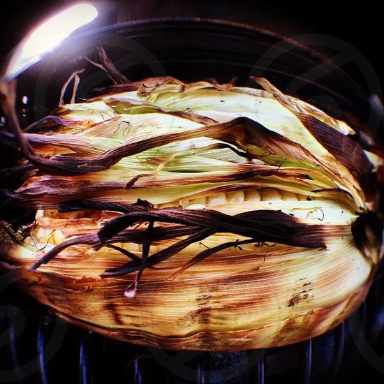 Corn on the grill. #fisheye photo