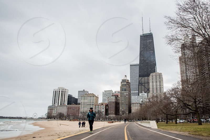 The Gold Coast is a historic neighborhood in Chicago known for it's access to Oak Street Beach. photo