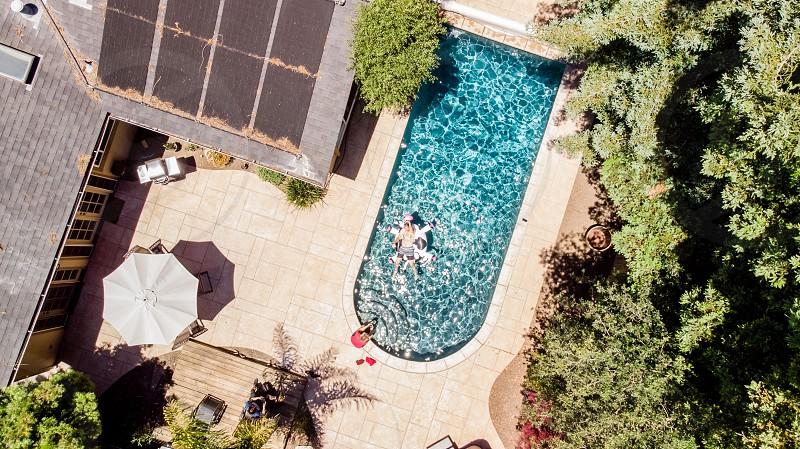 Fun at the pool photo