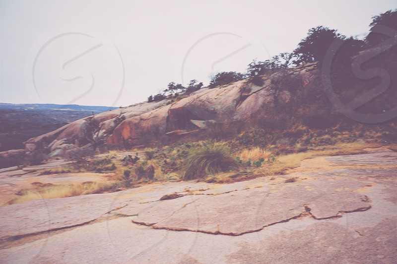 Enchanted rock photo