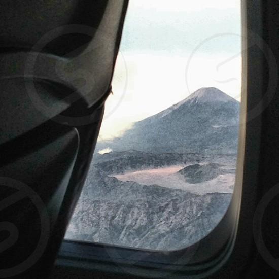 Mount Semeru the highest mountain in Java photo