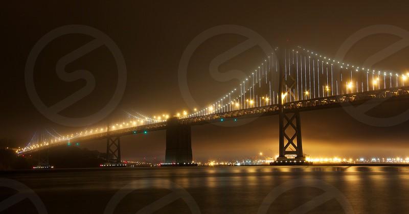 Bay Bridge fog photo