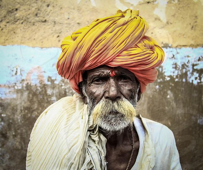old man in india... pushkar 2014. photo