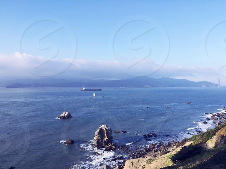 Pacific Ocean San Francisco California  photo