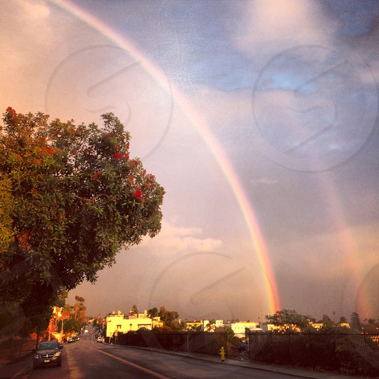 double rainbow  photo