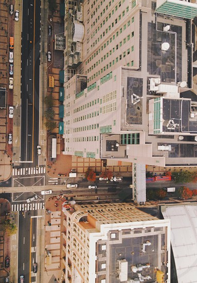 White city building photo