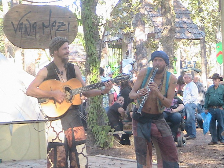 Musicians at Texas Renaissance Festival photo