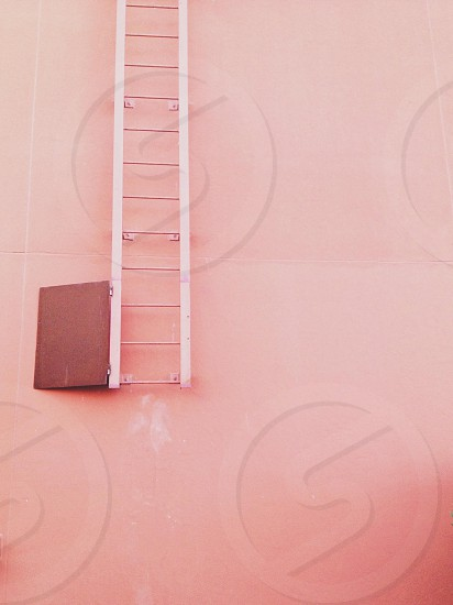 stainless steel ladder photo