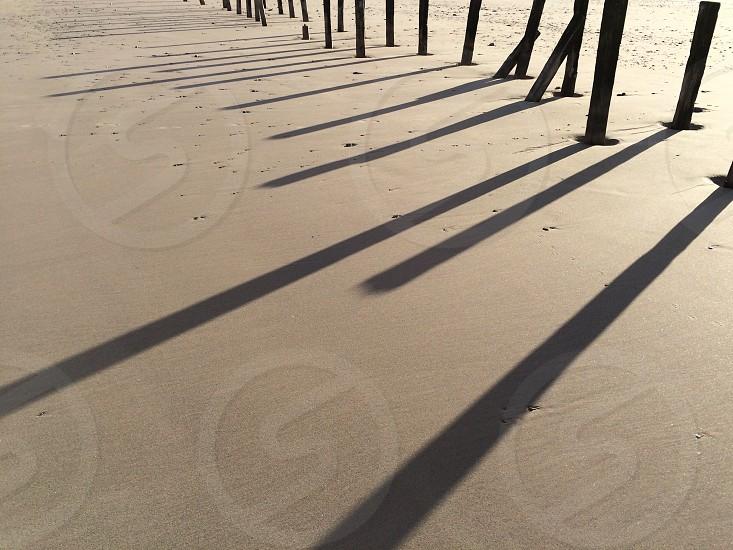 Taken on the beach.  photo