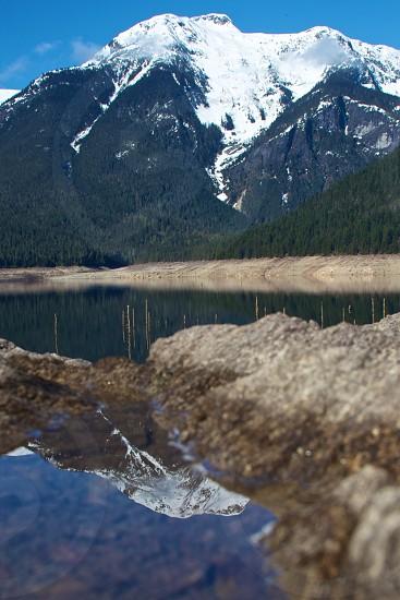 Mountain Reflection photo