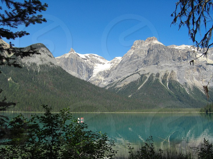 Canada with canoe photo