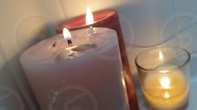 relaxation candles photo