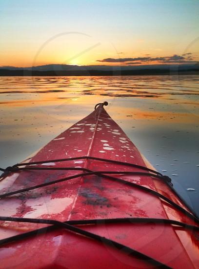 Kayaking Puget Sound photo