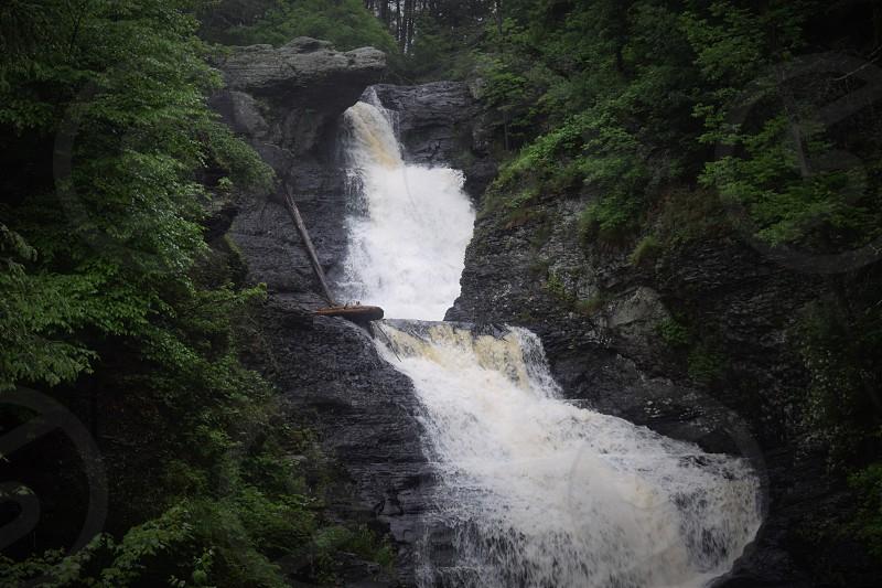 Glimpse of a Waterfall  photo