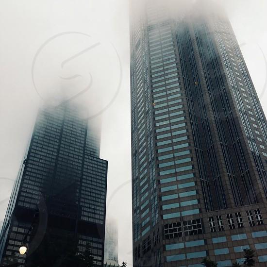 Urban fog photo
