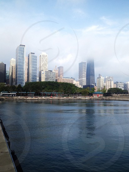 view of tall buildings photo