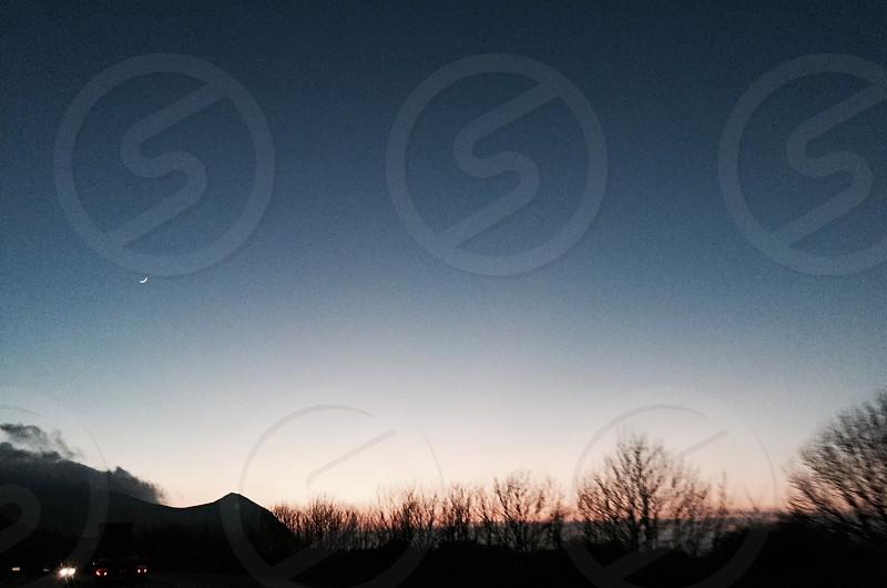 ombré sky photo