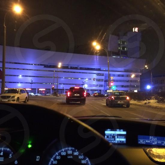 Ночная Москва photo