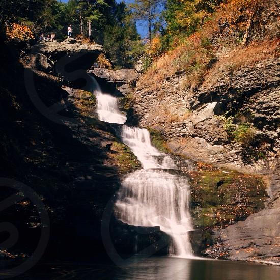 Chasing waterfalls explore the world  photo