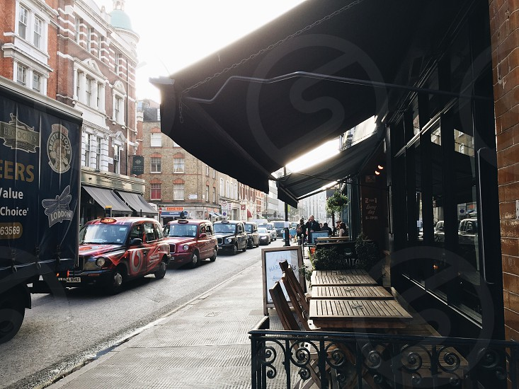 Street dining photo