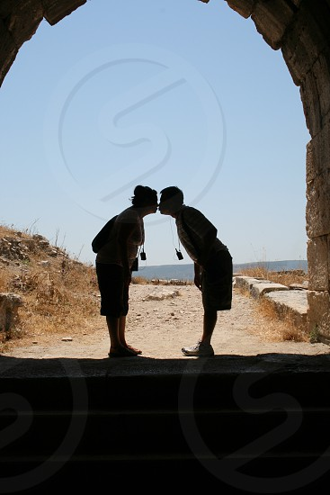 Kissing Couple photo