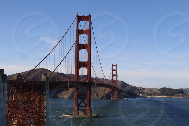 Bridgesan fransciscoeuacaliforniaredgolden gate photo