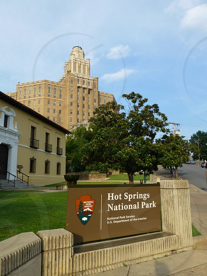 photo of Hot Springs National Park photo