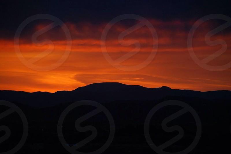 Sante Fe NM sunset photo