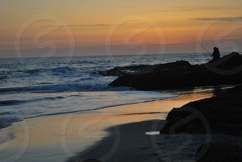 Big Sur in sunset hues photo