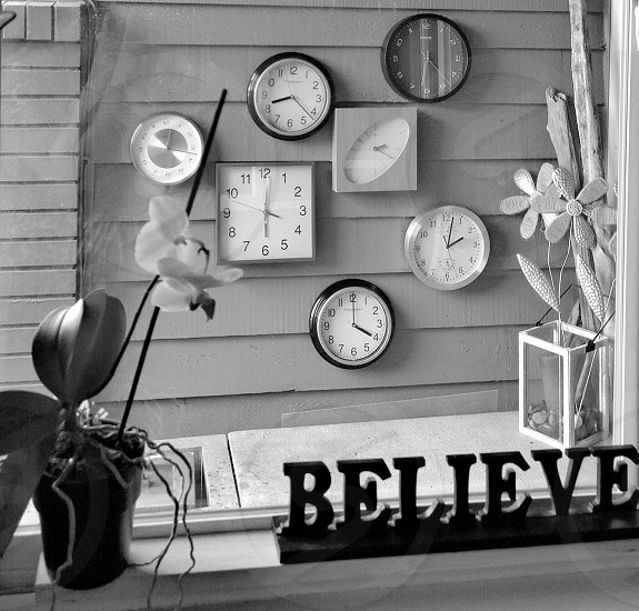Time to believe photo