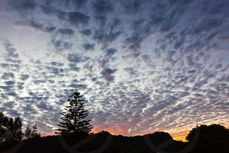 Sunset at Hahei photo