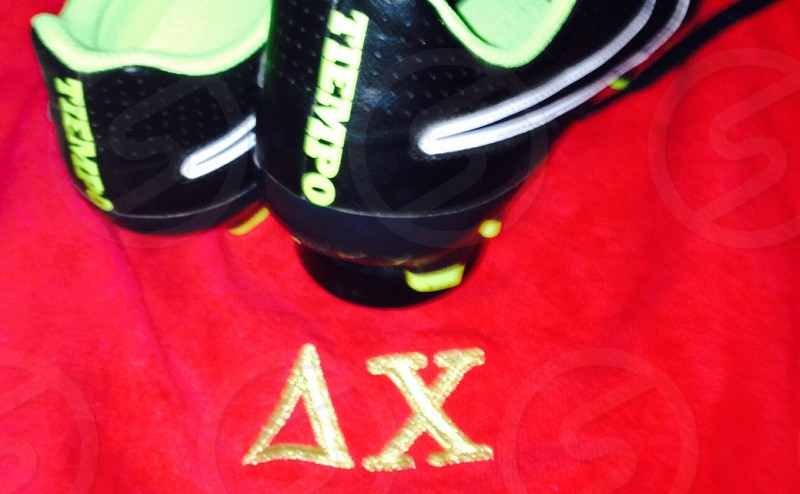 #Delta #Chi with cleats photo