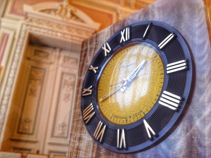 Clock close up photo