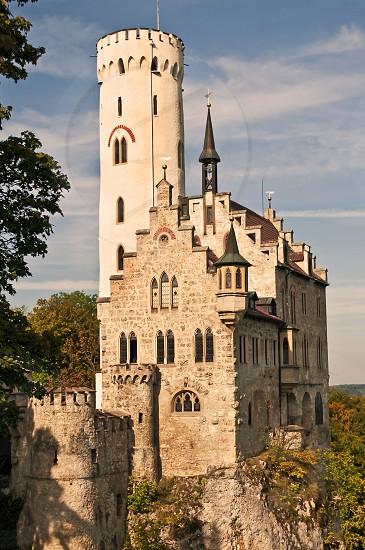 Castle Lichtenstein in Germany photo
