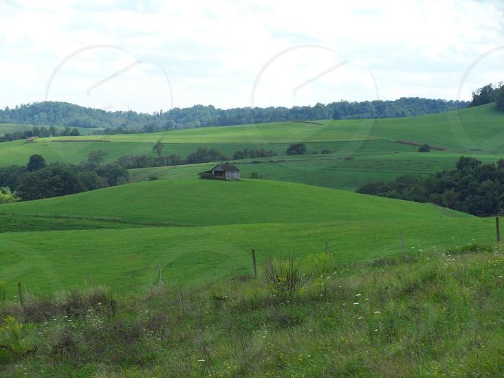 Barn in Field photo