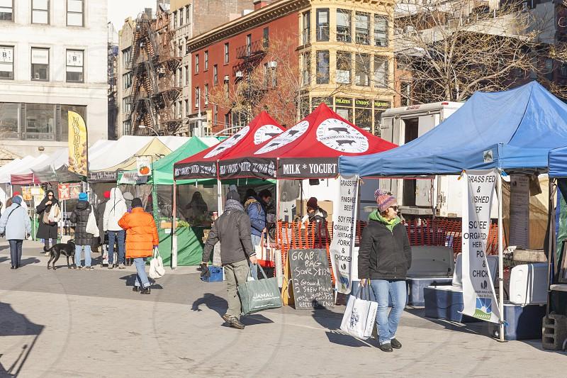 Union Square Manhattan NYC photo