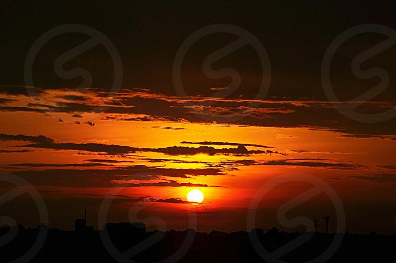 por do sol photo