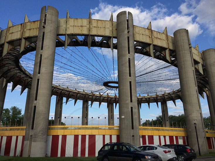 NY State Pavilion at the World's Fair photo
