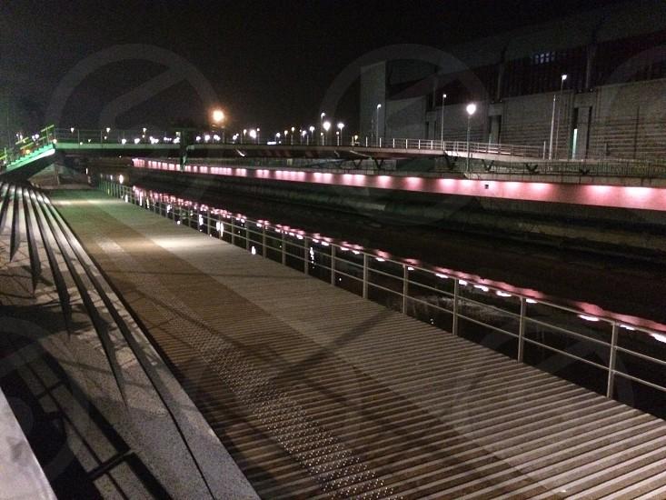New Bridge in the Charleroi City Belgium photo