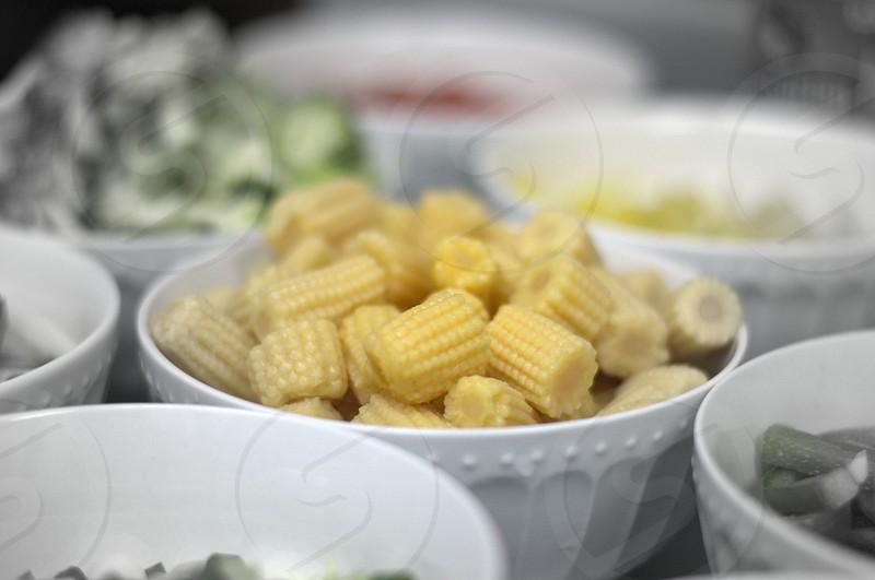 Baby Corn Salad  photo
