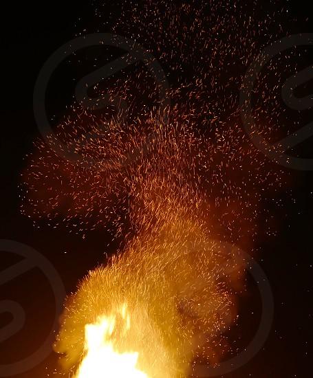 fire sparkle power photo