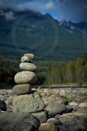 Rock Stacking  photo