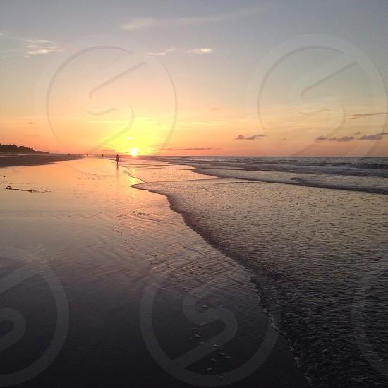 Sandy walk photo