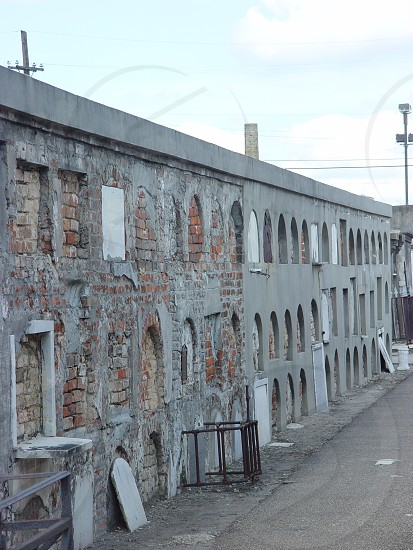 Wall Ovens.  St. Louis Cemetery #1.  New Orleans LA.  2003 photo