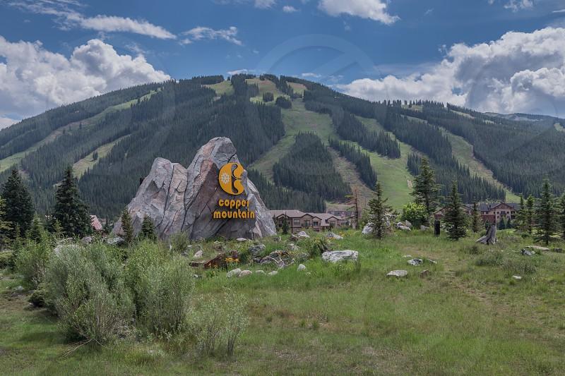 Copper Mountain ski and golf resort located near Breckenridge Colorado. photo