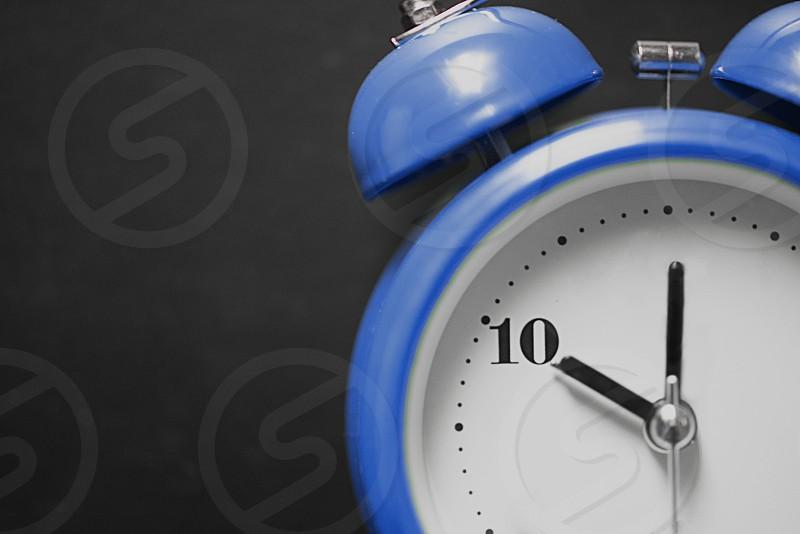 Blue Clock #10 photo