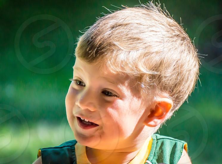 boy smiling photo