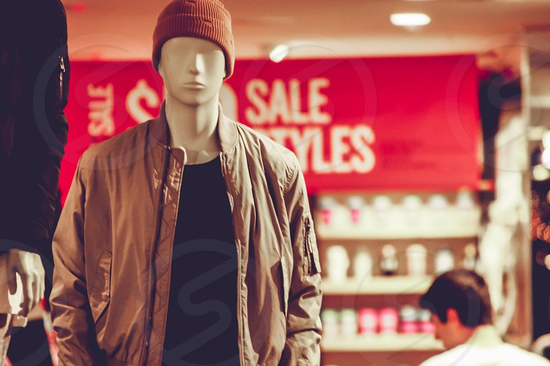 mannequin retail shopping clothing photo